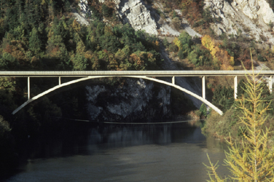 Rhine-Bridge Tamins